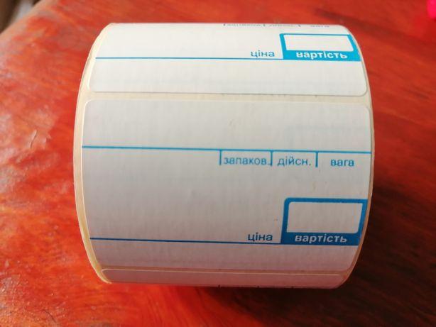 Термоэтикетка, ящик 60 рулонов