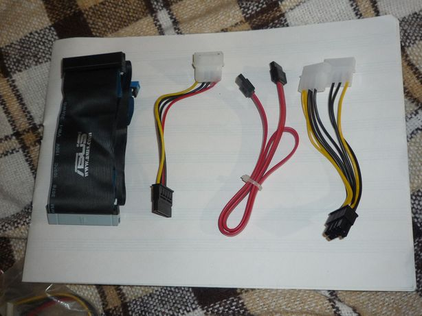 мелкие аксессуары и комплектующие. комплект sata-molex 8 pin