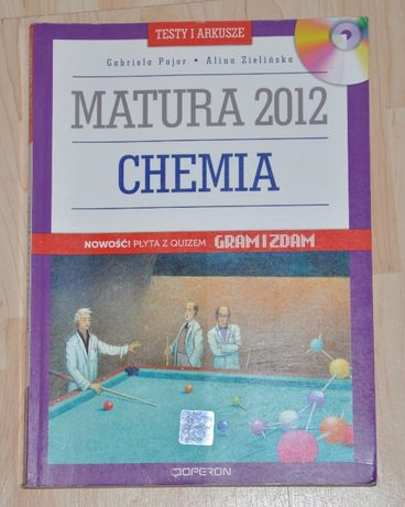 Chemia karty maturalne poziom podstawowy i rozszerzony OPERON MATURA