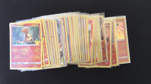 Cartas Pokemon HOLO/EN TCG (Charizard/FOGO/Outros)