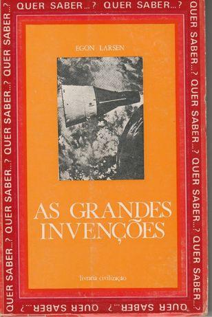 As Grandes Invenções - Egon Larsen