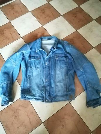 VANUCCI kurtka katanka jeansowa na motor rozm 60 XL/XXL