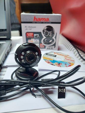 Kamerka internetowa Hama AC-150 idealna do nauki zdalnej