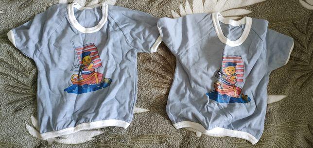 Две футболки + шортики детские