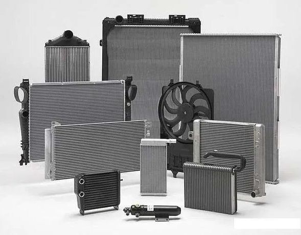 радиатор основной и кондиционера диффузор в сборе Элантру AD 2015-201