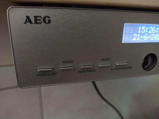 AEG radio kuchenne, podwieszane, DAB+ oraz FM