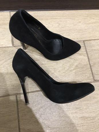 Туфли замшевые Glossi
