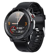 PROMOCJA! Zegarek męski SMARTWATCH L15 EKG Ciśnieniomierz Kalorie IP68