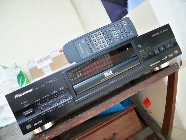 odtwarzacz DVD Pioneer DV-626D pilot/papiery/1 właściciel stan bdb