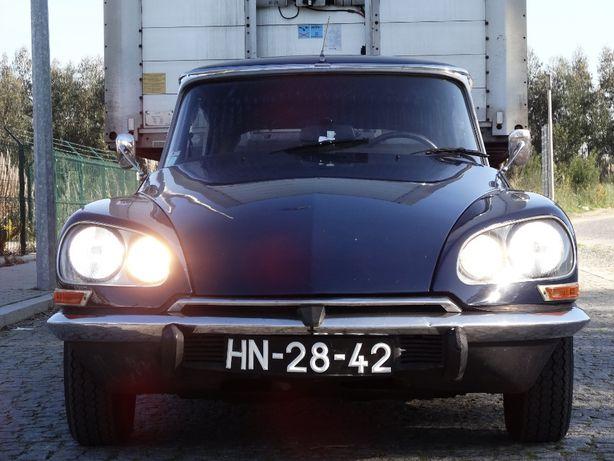 CITROEN DS 20 c/ 8750 Kms. Ano 1973 Motor 2175cc e Cx. 5 Vel. Novos