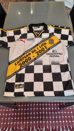 Equipamento comemorativo Boavista Futebol Club 2000/01