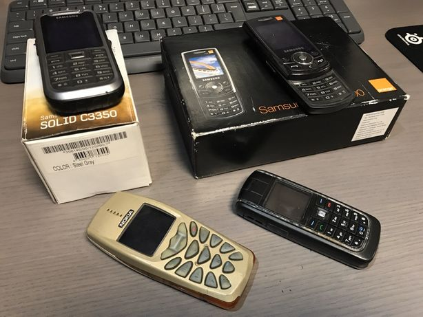 Samsung 2szt. Nokia 2szt. CAŁOŚĆ