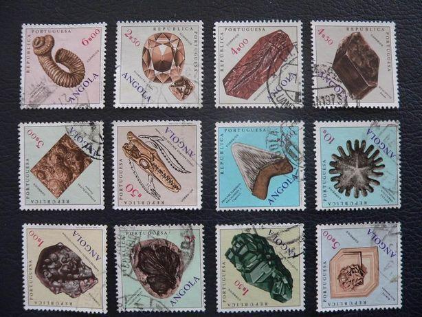 12 selos de fosseis