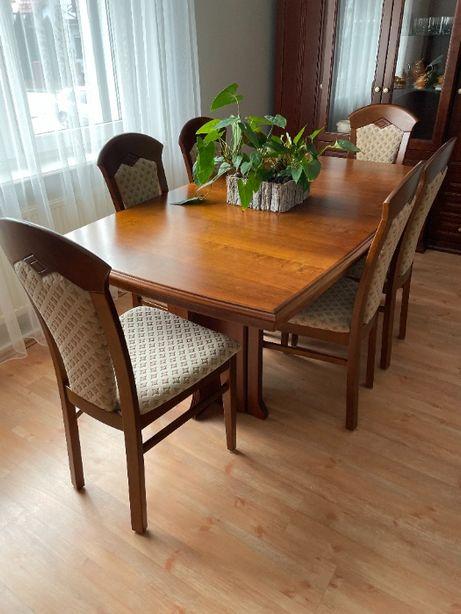 Komplet stół i krzesła Klose Amber