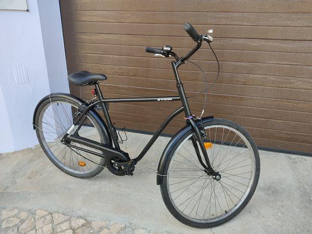 Bicicleta city ELOPS 100 HF Decathlon Btwin