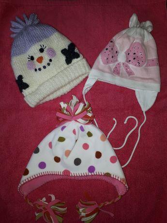 Зимния шапка для девочки Next George зимова шапка для дівчинки