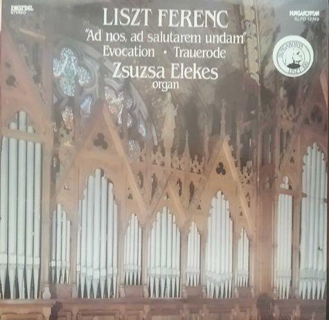 Płyta winylowa - Liszt - utwory organowe