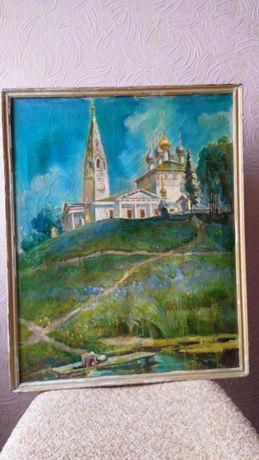 (Этюд) Масло холст известного Луганского худ. Мустакимова Г.С 5000руб