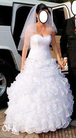 Suknia ślubna za ptasie mleczko
