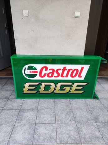 Podświetlana Reklama Castrol Edge. DUŻA!