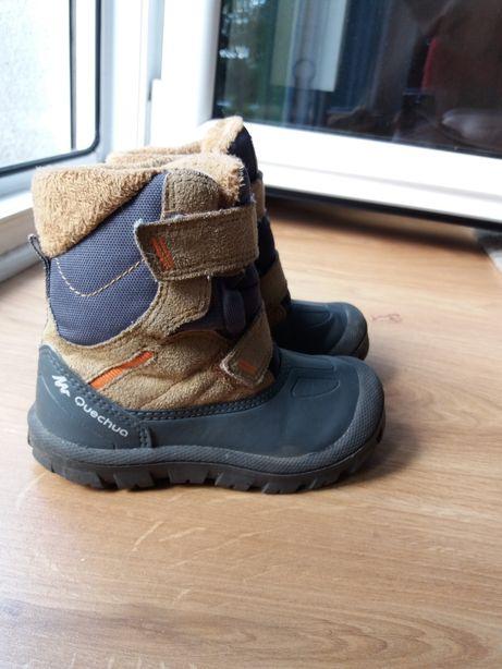 Quechua. Śniegowce. Buty dziecięce zimowe rozm. 23