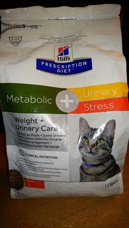 Karma dla kota Hill's Metabolic Urinary Stress 1,5kg
