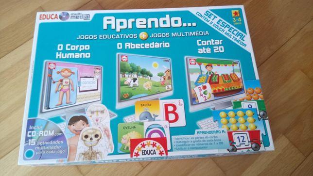 Jogo EDUCA 3-4 anos APRENDO