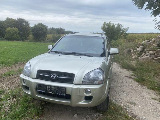 Hyundai Tuscon z Niemiec