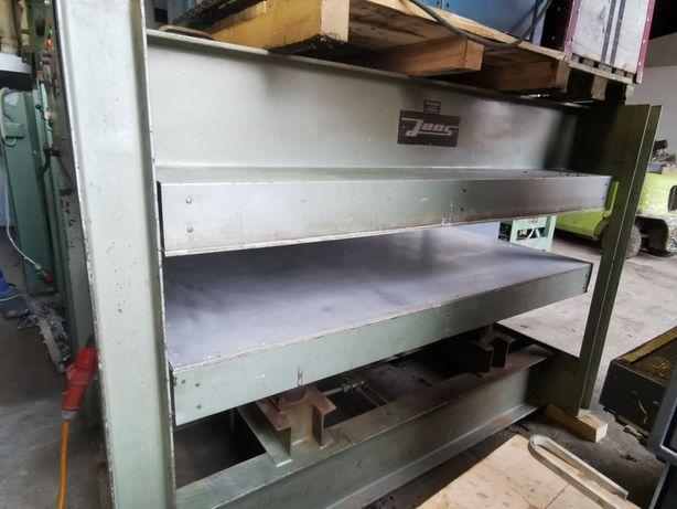 Prasa do forniru JOOS 220X125 połkowa hydrauliczna drewna