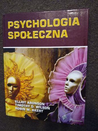 Psychologia społeczna Aronson, psychologia, socjologia,nauki społeczne