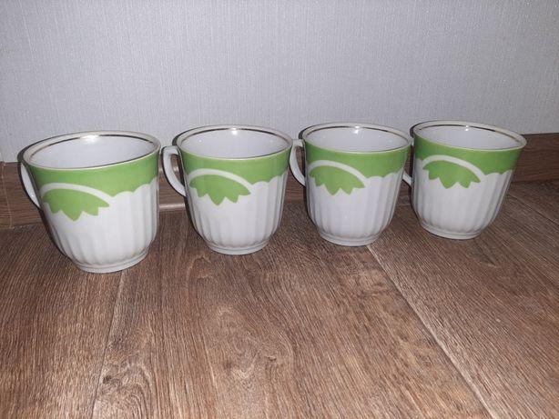 Чашки советские набор