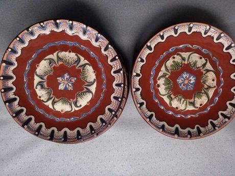 Talerzyki ceramiczne z czasów PRL 5 sztuk