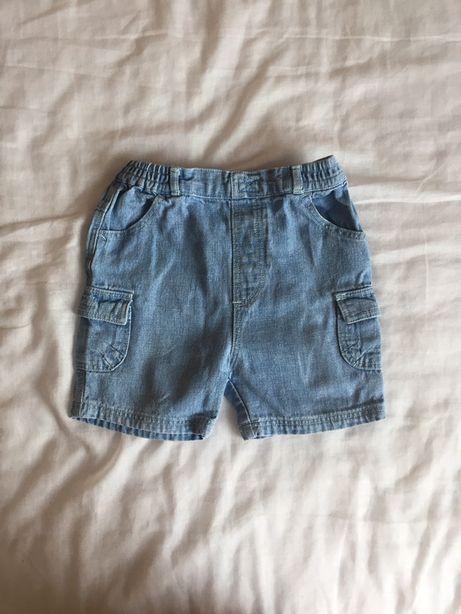 Spodenki krótkie dżinsowe 80 George jeansowe szorty