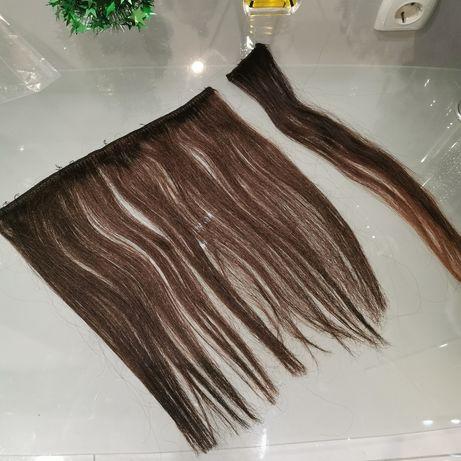 Трессы, волосы натуральные для объема 28 см