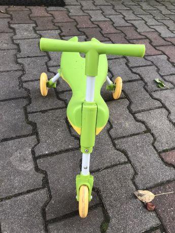 Rowerek trzykołowy zielony, wysylka gratis!