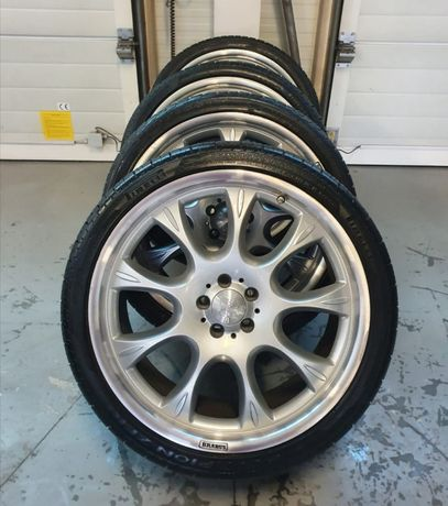 Oryginalne Koła Felgi Brabus 22 5x112 Mercedes Opony Pirelli !