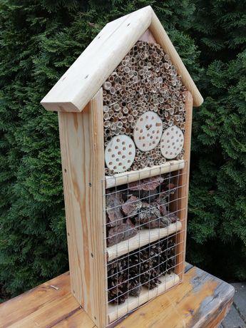 Domek dla owadów, pszczół murarek, owady zapylające
