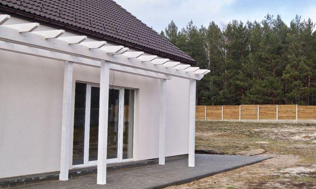 Современный дом в скандинавском стиле | сосновый лес и большое озеро