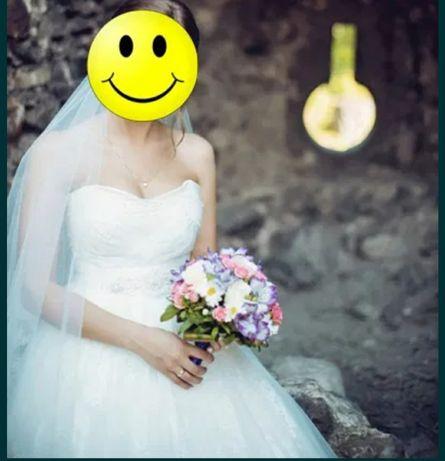 Весільна сукня , плаття 42-44 розмір (XS/S)