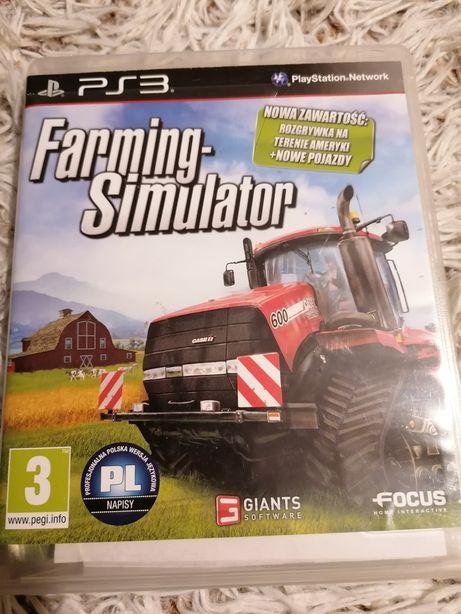 Farming simulator PL ps3