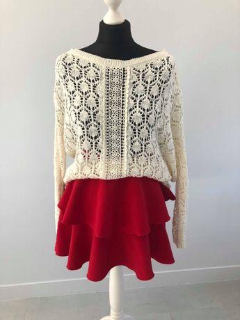 Czerwona spódniczka Zara rozmiar XS