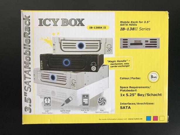 Мобильный SATA контейнер Ice Box IB-138 для жестких дисков