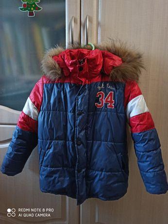 Зимняя курточка (7-8 лет )