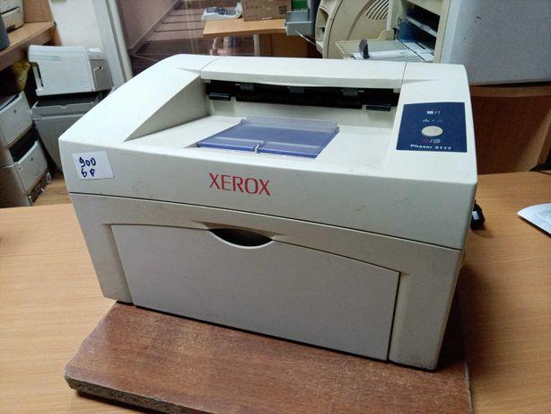 Лазерный принтер Xerox Phaser 3117, новый ролик захвата и фотобарабан