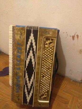 Stara harmonia, akordeon Montewerest 120bas
