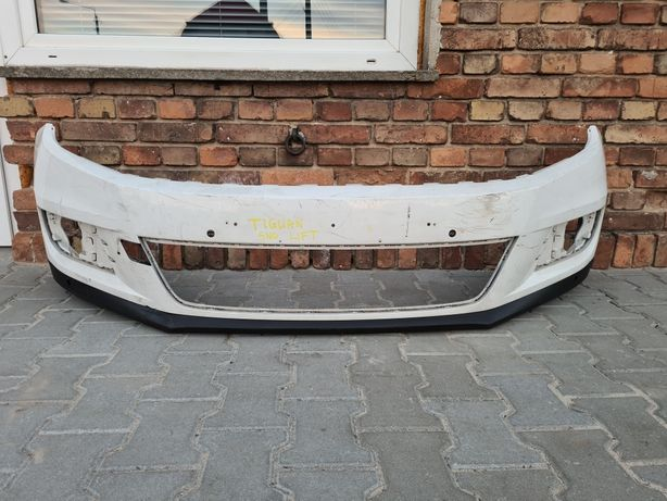 ZDERZAK przedni VW TIGUAN 5N0 LIFT pod PDC oryginał