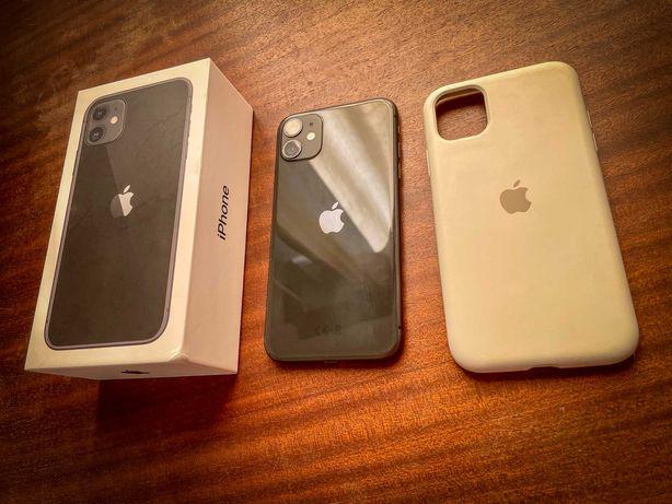iPhone 11 64gb preto, garantia e capa, bateria como nova, desbloqueado