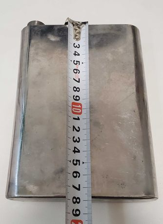 Фляга из нержавейки ( 600 мл.) Фляжка пищевая. Фляга походная