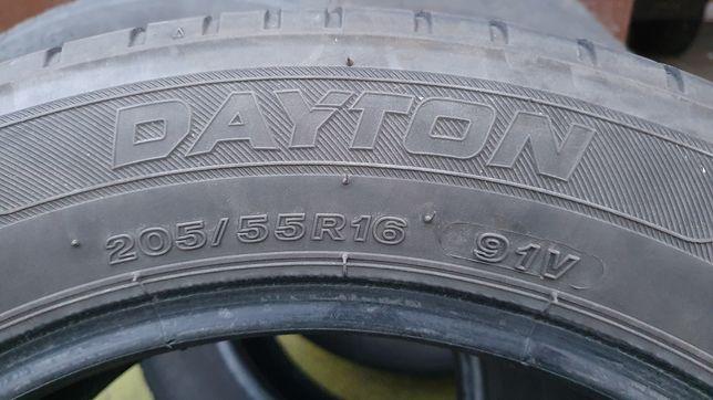 Opony letnie 205/55R16 4x Dayton Touring 2, DOT 0518x3 0818x1 4mm