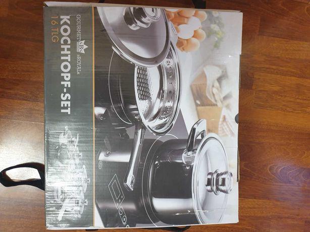 "Набор Посуды Gourmet SBS ""Royal"" KOCHTOPF-SET 16 TLG Германия"